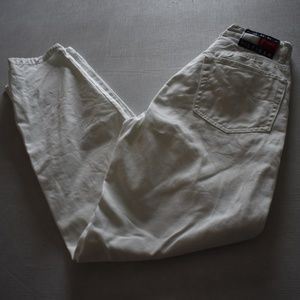 White Tommy Hilfiger Jeans PREFECT FOR CUTOFFS 6